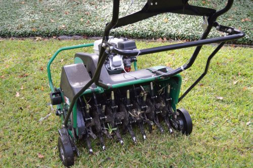 Aeration and Overseeding Lawn Care